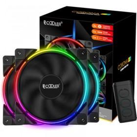 Кабель VGA Gembird HD15M/HD15M (CC-PPVGA-20M-B) с 2-мя фер. Кольцами, двойной экран, черный, 20м