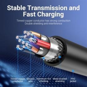 Купить ᐈ Кривой Рог ᐈ Низкая цена ᐈ Коннектор магнитный Cablexpert (CC-USB2-AMLM-UCM), USB Type-C
