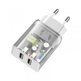 Купить ᐈ Кривой Рог ᐈ Низкая цена ᐈ Гарнитура REAL-EL GDX-7700 Black/Orange UAH