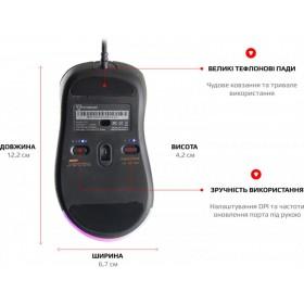 Комплект клавиатура + мышка REAL-EL Standard 505 Kit USB Белый