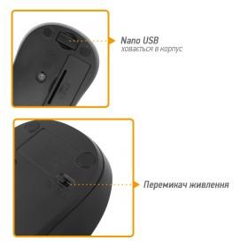 Комплект (клавиатура, мышь) Rapoo N1850 Black USB